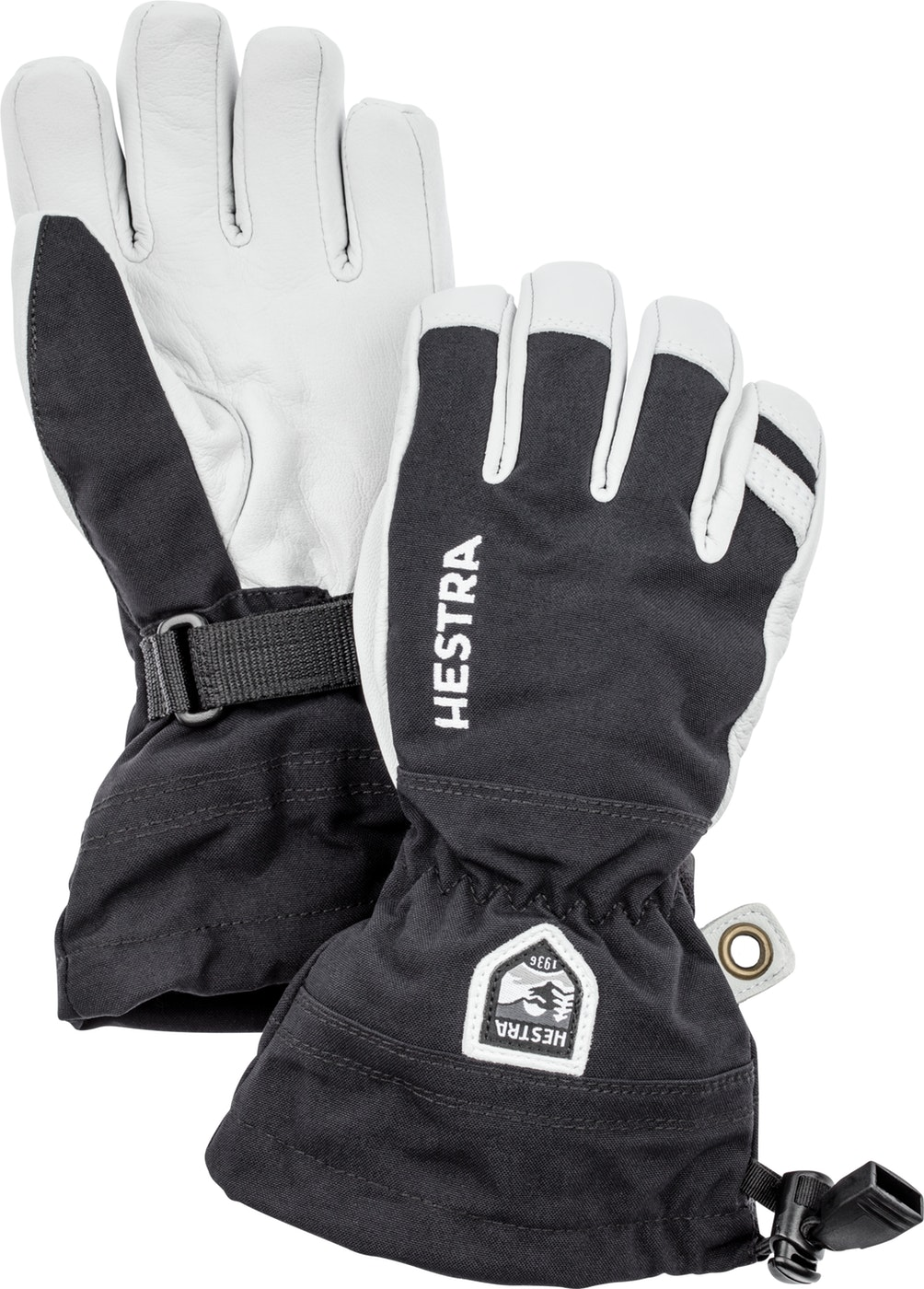 Hestra Army Leather Heli ski Jr - 5 finger