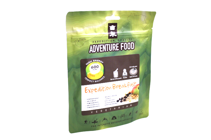 Adventure Food Expedition Frukost